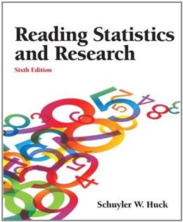 Reading Statistics and Research 6 9780132178631