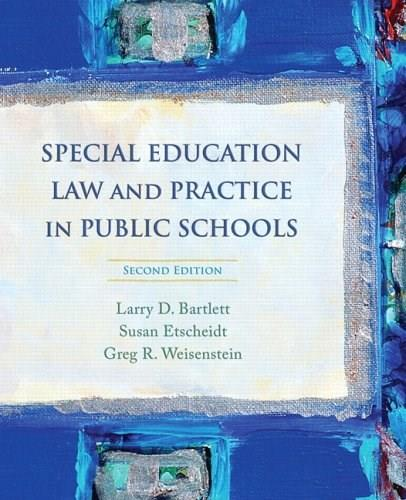 Special Education Law and Practice in Public Schools (2nd Edition) 9780132207140