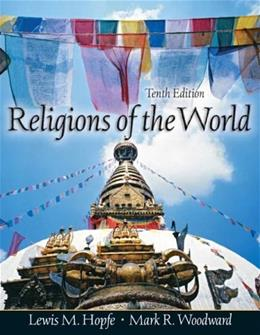 Religions of the World, by Hopfe, 10th Edition 10 w/CD 9780132240451
