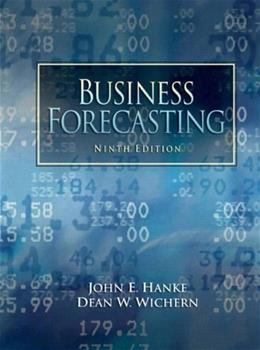 Business Forecasting (9th Edition) 9780132301206