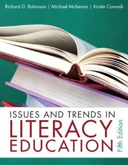 Issues and Trends in Literacy Education (5th Edition) 9780132316415