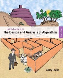 Introduction to the Design & Analysis of Algorithms 3 9780132316811