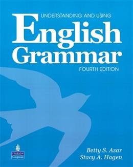 Understanding and Using English Grammar, 4th Edition (Book & Audio CD) 4 w/CD 9780132333337