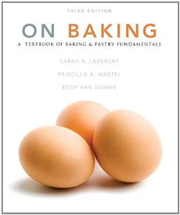 On Baking (3rd Edition) 9780132374569