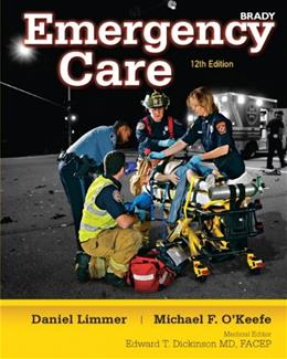 Emergency Care, by Limmer, 12th Edition 9780132543804
