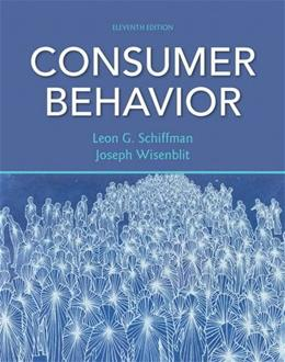Consumer Behavior (11th Edition) 9780132544368