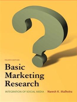 Basic Marketing Research (4th Edition) 9780132544481