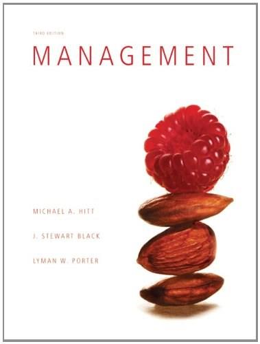 Management (3rd Edition) 9780132553285