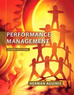 Performance Management (3rd Edition) 9780132556385