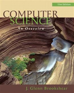 Computer Science: An Overview (11th Edition) 11 PKG 9780132569033