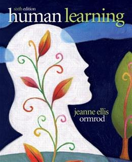 Human Learning (6th Edition) 9780132595186