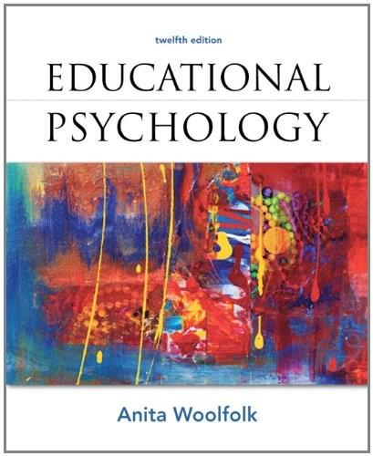 Educational Psychology (12th Edition) 9780132613163