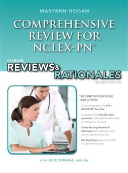Comprehensive Review for NCLEX-PN, by Hogan, 2nd Edition 2 PKG 9780132621410