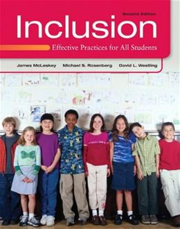 Inclusion: Effective Practices for All Students (2nd Edition) 9780132658201