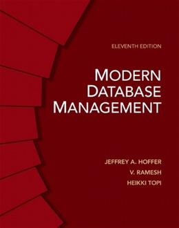 Modern Database Management (11th Edition) 9780132662253