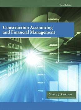 Construction Accounting & Financial Management (3rd Edition) 9780132675055