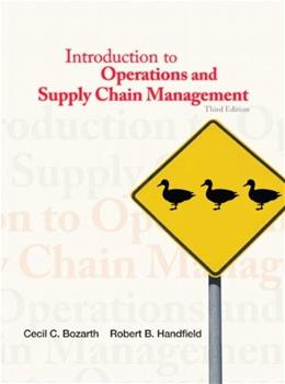 Introduction to Operations and Supply Chain Management (3rd Edition) 9780132747325
