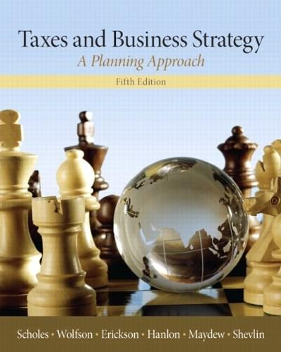 Taxes & Business Strategy 5 9780132752671