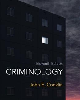 Criminology (11th Edition) 9780132764445