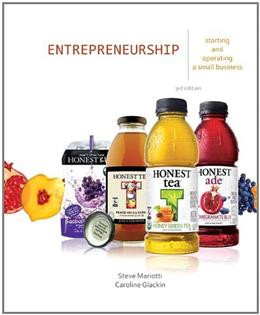 Entrepreneurship: Starting and Operating a Small Business (3rd Edition) 9780132784085