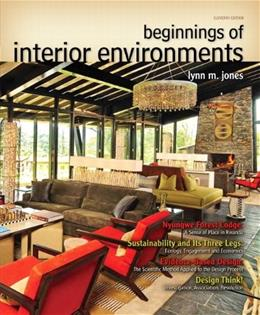 Beginnings of Interior Environments (11th Edition) (Fashion Series) 9780132786003