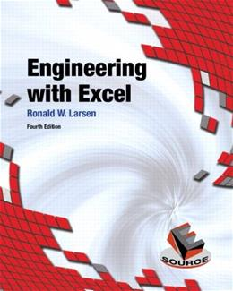 Engineering with Excel (4th Edition) 9780132788656