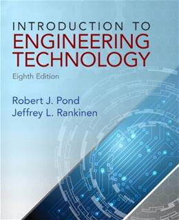Introduction to Engineering Technology 8 9780132840118