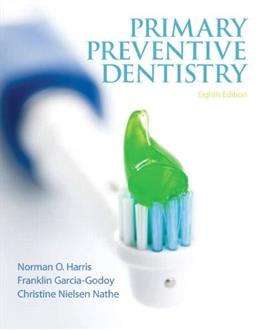Primary Preventive Dentistry (8th Edition) (Primary Preventive Dentistry ( Harris)) 9780132845700