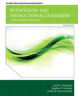 SuperVision and Instructional Leadership: A Developmental Approach (9th Edition) (Allyn & Bacon Educational Leadership) 9780132852135