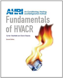 Fundamentals of HVACR (2nd Edition) 9780132859615