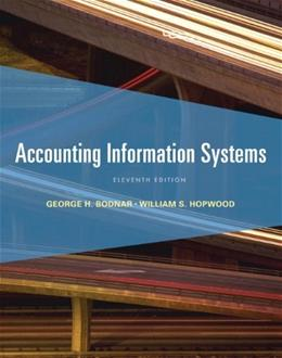 Accounting Information Systems (11th Edition) 9780132871938