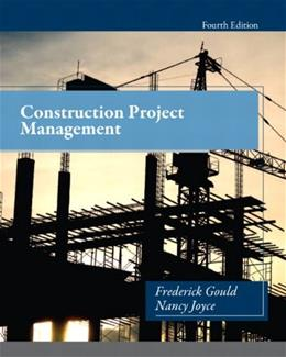 Construction Project Management (4th Edition) 9780132877244