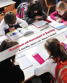 Measurement and Assessment in Teaching, by Gronlund, 11th Edition 11 PKG 9780132893626