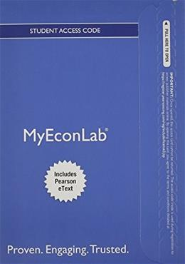 MyEconLab with Pearson eText for Microeconomics, by Pindyck, 8th Edition, ACCESS CODE ONLY 8 PKG 9780132914659