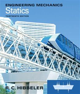 Engineering Mechanics: Statics (13th Edition) 9780132915540