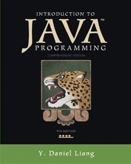 Introduction to Java Programming, Comprehensive Version (9th Edition) 9 PKG 9780132936521