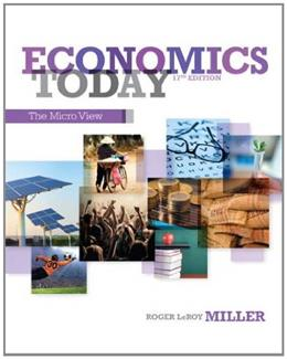 Economics Today: The Micro View (17th Edition) 9780132948883