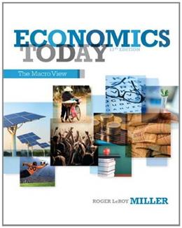 Economics Today: The Macro View (17th Edition) 9780132948890