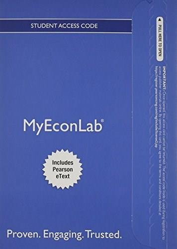 MyEconLab with Pearson eText for Economics Today: The Macro View, by Miller, 17th Edition, Access Code Only 17 PKG 9780132969932