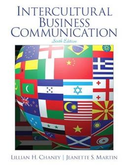 Intercultural Business Communication (6th Edition) 9780132971270