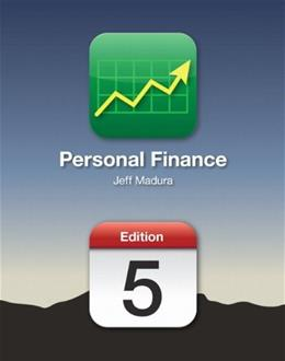Personal Finance (5th Edition) (The Personal Series in Finance) 5 w/CD 9780132994347