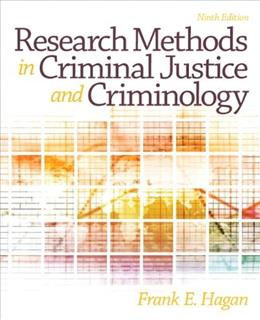 Research Methods in Criminal Justice and Criminology (9th Edition) 9780133008616