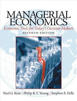 Managerial Economics (7th Edition) 9780133020267