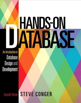 Hands-On Database (2nd Edition) 9780133024418