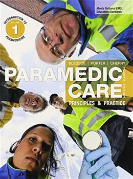 Paramedic Care: Principles and Practice, by Porter, 4th Edition, 7 VOLUME SET 4 PKG 9780133029567
