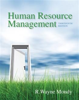 Human Resource Management (13th Edition) 9780133043549
