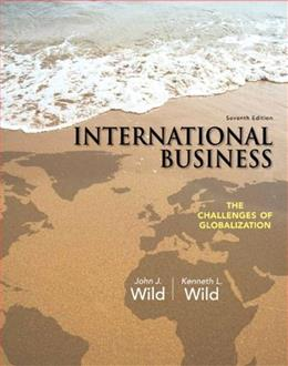 International Business: The Challenges of Globalization (7th Edition) 9780133063004