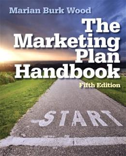 Marketing Plan Handbook (5th Edition) 9780133078350