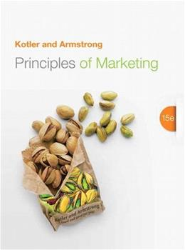 Principles of Marketing (15th Edition) 9780133084047