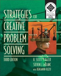 Strategies for Creative Problem Solving (3rd Edition) 9780133091663